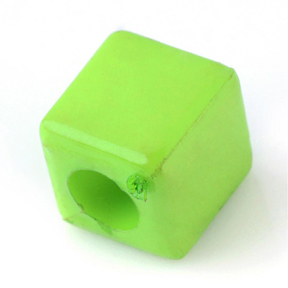 Cube Beads (green)