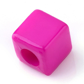 Cube Beads (pink)