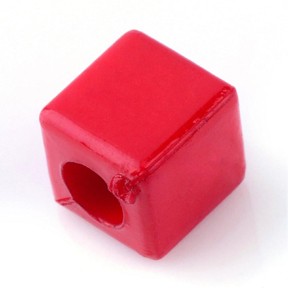 Cube Beads (red)