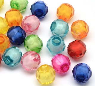 Faceted Bead in Bead