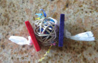 Balsa Vine Ball Foot Toy