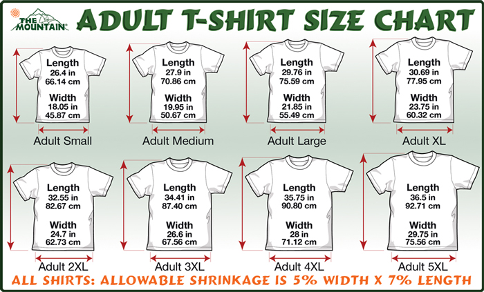 medium size shirt